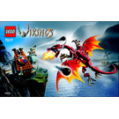 LEGO Viking Catapult versus the Nidhogg Dragon  Set 7017 Instructions