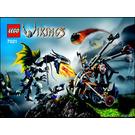LEGO Viking Double Catapault versus the Armoured Ofnir Dragon Set 7021 Instructions