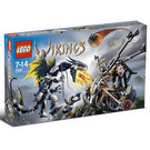 LEGO Viking Double Catapault versus the Armoured Ofnir Dragon Set 7021 Packaging