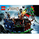 LEGO Viking Fortress against the Fafnir Dragon Set 7019 Instructions