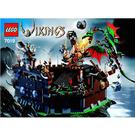 LEGO Viking Fortress against the Fafnir Dragon Set 7019 Instructions