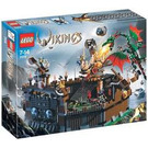 LEGO Viking Fortress against the Fafnir Dragon Set 7019 Packaging