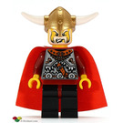 LEGO Viking King Minifigure
