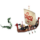 LEGO Viking Ship challenges the Midgard Serpent  Set 7018