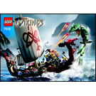 LEGO Viking Ship challenges the Midgard Serpent  Set 7018 Instructions