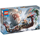 LEGO Viking Ship challenges the Midgard Serpent  Set 7018 Packaging