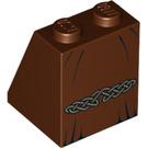 LEGO Viking Woman Slope 2 x 2 x 2 (65°) with Stud Holder (3678 / 10043)