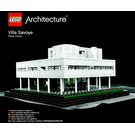 LEGO Villa Savoye Set 21014 Instructions