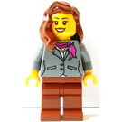 LEGO Villy Thomsen Truck Female Minifigure