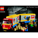LEGO Villy Thomsen Truck Set 4000008 Instructions