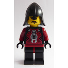 LEGO Vladek with Black Neck-Protector Helmet Minifigure