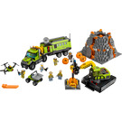 LEGO Volcano Exploration Base Set 60124