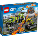 LEGO Volcano Exploration Base Set 60124 Packaging