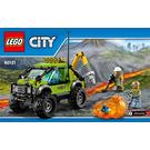 LEGO Volcano Exploration Truck Set 60121 Instructions