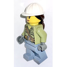 LEGO Volcano Explorer - Female with Hard Hat Minifigure