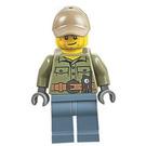 LEGO Volcano Explorer - Male, Shirt with Belt and Radio Minifigure