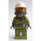 LEGO Volcano Explorer - Male with Breathing Apparatus Minifigure