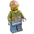 LEGO Volcano Explorer Minifigure