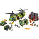 LEGO Volcano Heavy-Lift Helicopter Set 60125