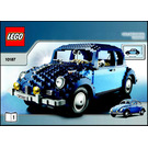 LEGO Volkswagen Beetle Set 10187 Instructions