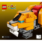 LEGO Voltron Set 21311 Instructions