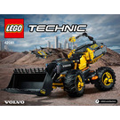 LEGO Volvo Concept Wheel Loader ZEUX Set 42081 Instructions