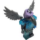 LEGO Vornon - Trans-Light Blue Armor Minifigure