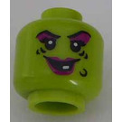 LEGO Wacky Witch plain head Halloween (recessed solid stud) (Recessed Solid Stud) (3626)