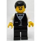 LEGO Waiter with Moustache Minifigure