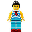 LEGO Waitress with Skates Minifigure