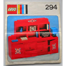 LEGO Wall unit Set 294 Instructions