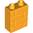 LEGO Wall with Brick Pattern 1 x 2 x 2 (25550)