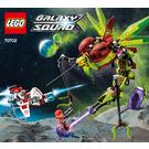 LEGO Warp Stinger Set 70702 Instructions