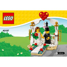 LEGO Wedding Favour Set 2018 40197 Instructions
