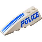 "LEGO Wedge 2 x 6 Double Left with ""POLICE"" (41748)"