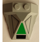 LEGO Wedge 4 x 4 Quadruple Convex Slope Center with Decoration (47757)