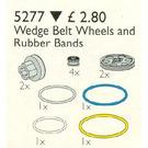LEGO Wedge Belt, Pulleys and V-Belts Set 5277