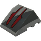LEGO Wedge Curved 3 x 4 Triple with Decoration (19152 / 64225)