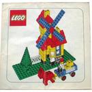 LEGO Weetabix promotional windmill Set 00-4 Instructions