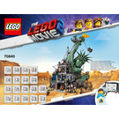 LEGO Welcome to Apocalypseburg! Set 70840 Instructions