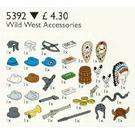LEGO Western Accessories Set 5392