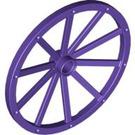 LEGO Wheel 3.2 x 56 with 10 Spokes Wooden (33212)