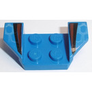 LEGO Wheel Arch 2 x 4 with Black and Red Stripes (41854)
