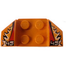 LEGO Wheel Arch 2 x 4 with Decoration (41854)