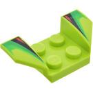 LEGO Wheel Arch 2 x 4 with Decoration (41854)