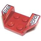 LEGO Wheel Arch 2 x 4 with Number 66 (41854)