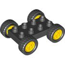 LEGO Wheel Base 2 x 4 Ø 26,8 with Wheel (42416)