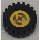 LEGO Wheel Hub 8 x 17.5 with Axlehole Assembly (3482)