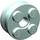 LEGO Wheel Rim 10 x 17.4 with 4 Studs and Technic Peghole (6248)