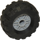 LEGO Wheel Rim Ø18 x 14 with Pin Hole with Tire Balloon Wide Ø37 x 18 (55981)